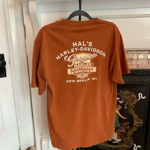 Harley-Davidson Wisconsin Motorcycle T-shirt L